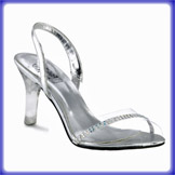 Blanca Clear High Heel Evening Shoes