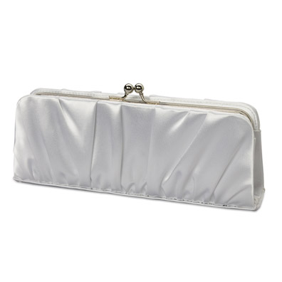 Cherish White Bridal Bag