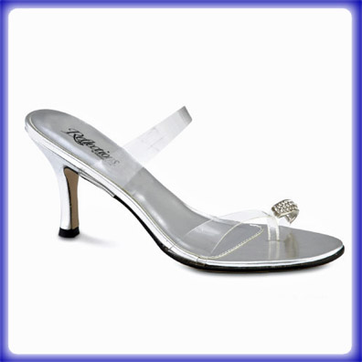 Diamond Toe High Heel Evening Shoes