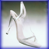 Diva Clear High Heel Evening Shoes