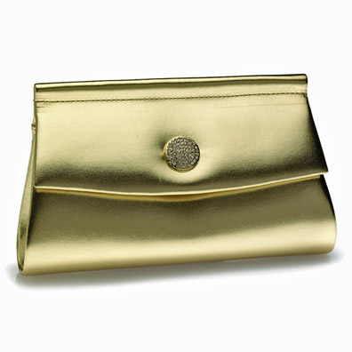 Joanie Gold Evening Bag