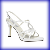 Logan High Heel Bridal Shoes