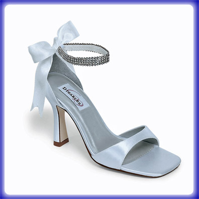 Passion White Satin Bridal Shoes
