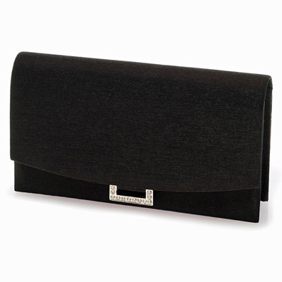Peggy Black Evening Bag