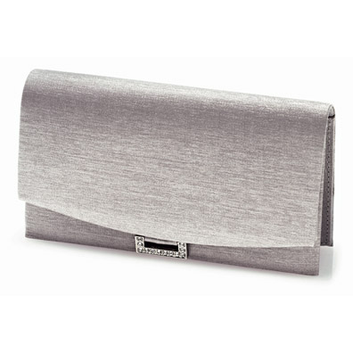 Peggy Silver Evening Bag