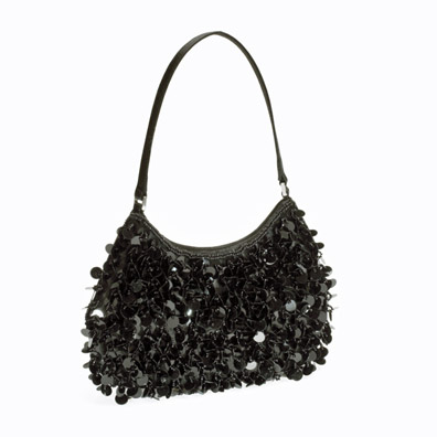 Quincy Black Evening Handbag