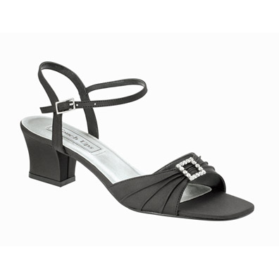 Low Heel Black Evening Shoes from Strappy Sandals to Elegant Pumps