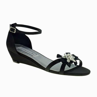3ca75e3fcb9 Low Heel Evening Shoes in All Colors and Styles