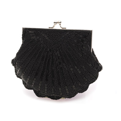 Victoria Black Evening Bag