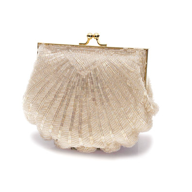 Victoria Ivory Bridal and Evening Bag