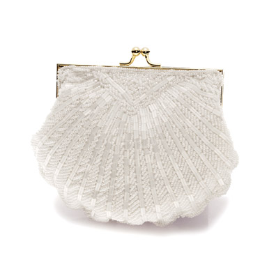 Victoria White Bridal and Evening Bag